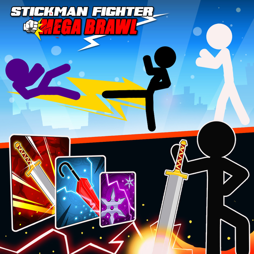 Stickman Fighter : Mega Brawl