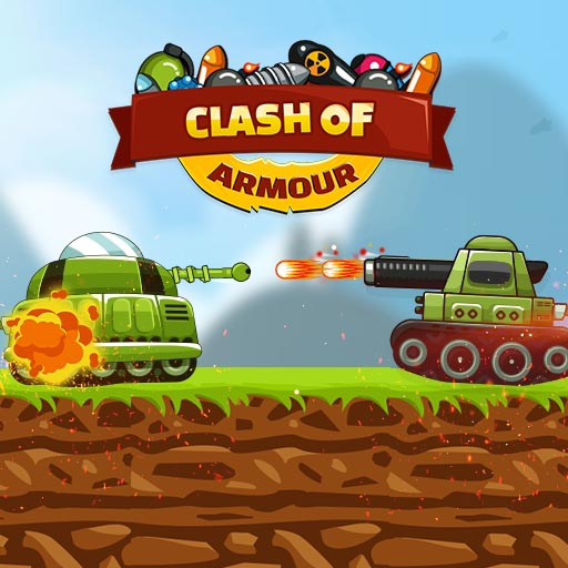 Clash Of Armored Tanks